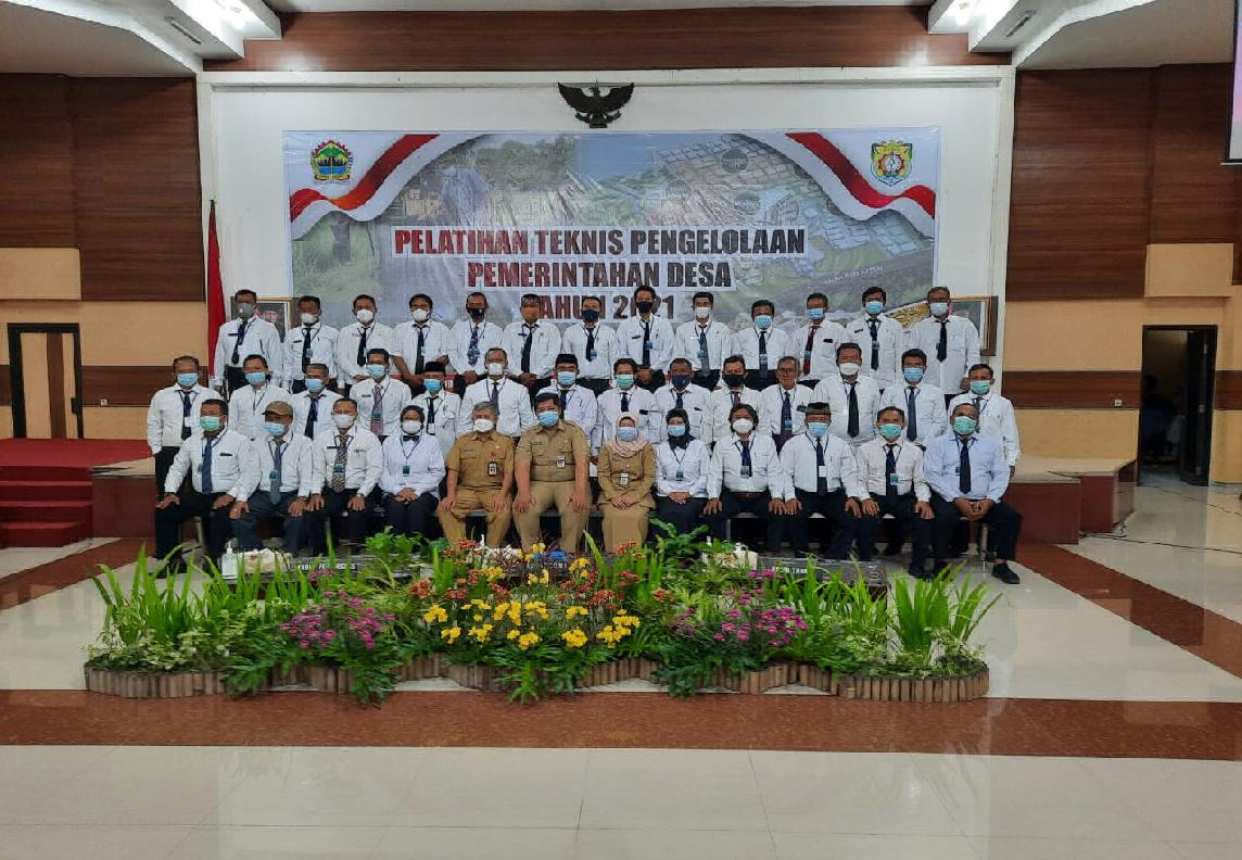 pelatihan kades baru di BPSDMD Provinsi Jawa Tengah
