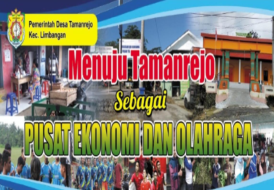 Tamanrejo sebagai Pusat Ekonomi dan Olahraha